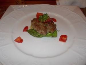 猪肉のハンバーグ