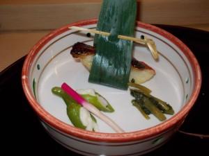 キンキの西京焼
